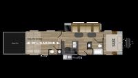 2018 Torque XLT T322 Floor Plan