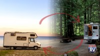 RV on the beach or RV in the woods. Your choice.