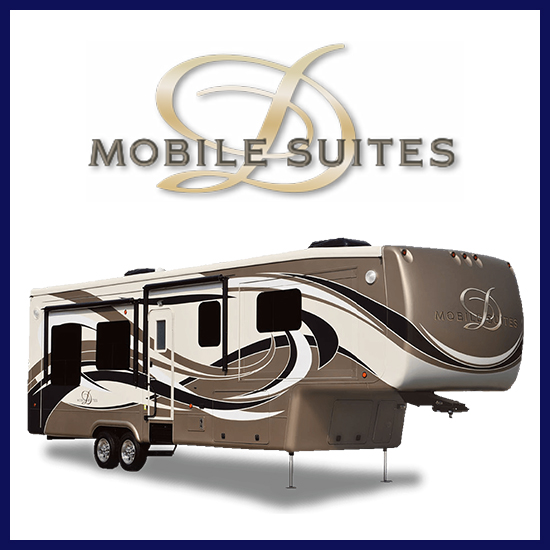 Get the best price on a Mobile Suites fifth wheel at Gillette's Interstate RV!