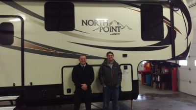 Patrick Patrick at Gillettes Interstate RV with their North Point 375BHFS
