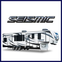 Get the best price on a Seismic toy hauler at Gillette's Interstate RV!