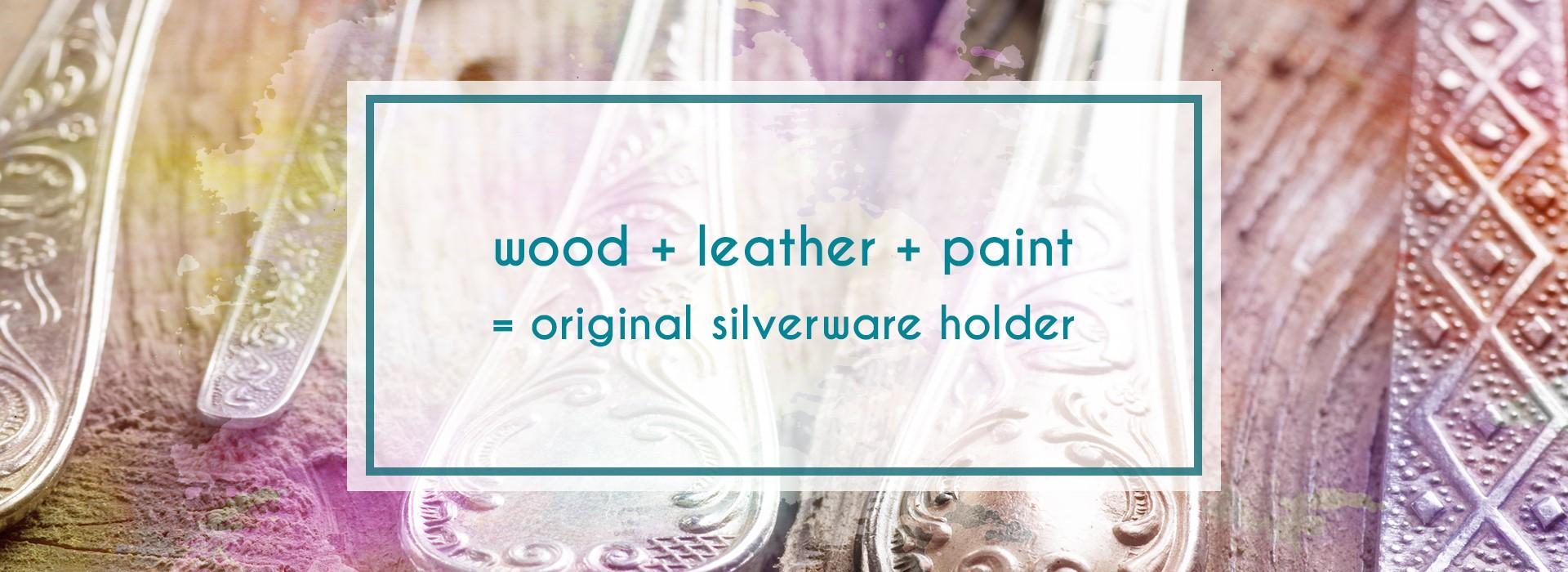Make your own silverware holder