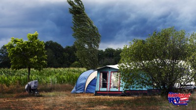 Camping During Storm