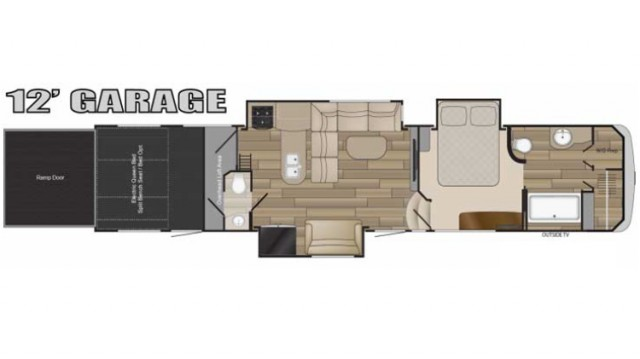 2017 Cyclone 4150 Floor Plan