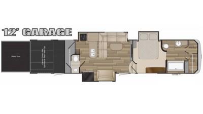 2017 Cyclone 4150 Floor Plan