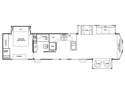 2013 Cedar Creek Cottage 40CFE2 - 208191