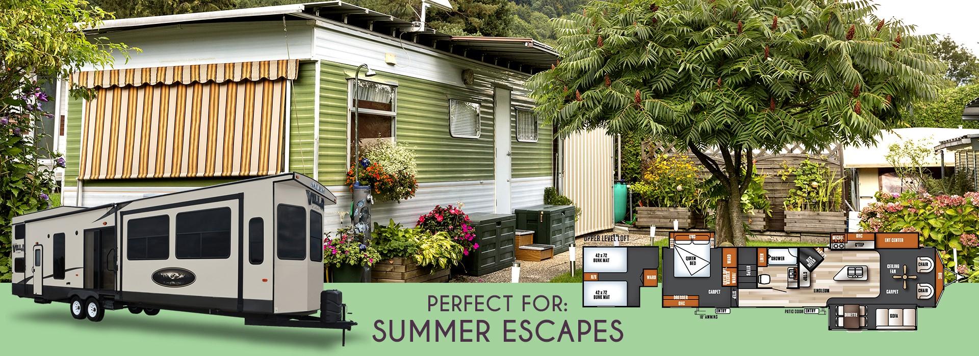 Forest River Salem Villa Estate 4092BFL: perfect for summer escapes