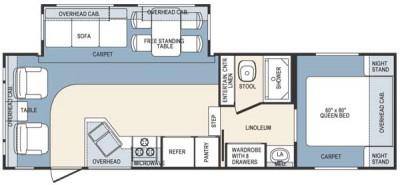 2004 Wildcat 27rl Floor Plan