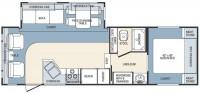 2005 Wildcat 27RLS Floor Plan