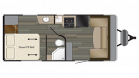 2018 Terry Classic V21 Floor Plan