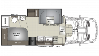 2019 Prism ELITE 24EJ Floor Plan
