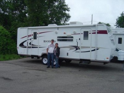 Tom of Ypsilanti with their Rockwood Roo 23IKSS