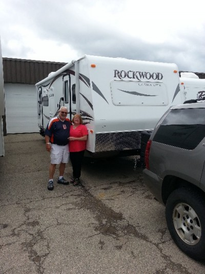 Roger of Merkel, TX with their Rockwood Ultra Lite 2607A