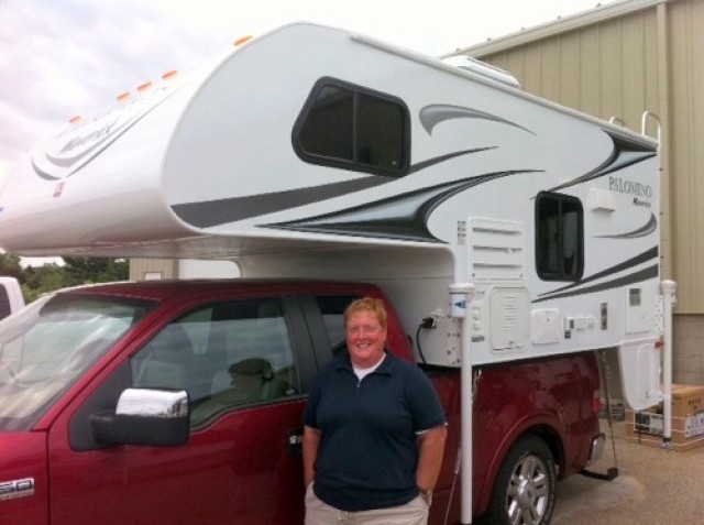 Amy of Saginaw with their PaloMini 179RDS