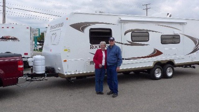 Bob of Chestermere, AB with their Rockwood Signature Ultra Lite 8288WSA