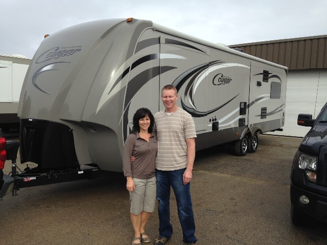 Blaine of Quesnel with their Cougar High Country 319RLS