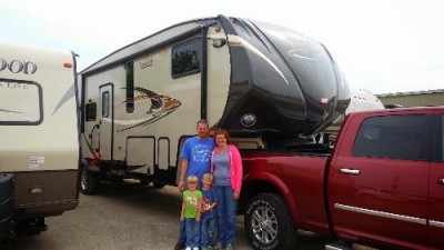 Bushman Family of Grawn, MI with their Chaparral 360IBL