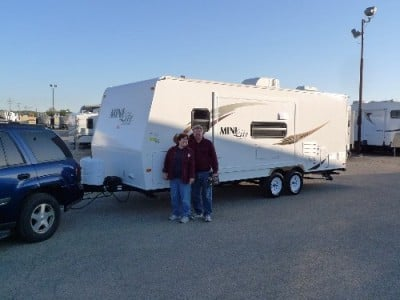 Don of Marrieta, WI with their Rockwood Mini Lite 2104S