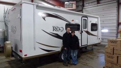 Andrew of Minden, SK with their Rockwood Roo 233S