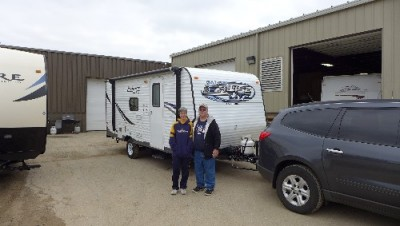 John of Merkel, TX with their Salem Cruise Lite 195BH