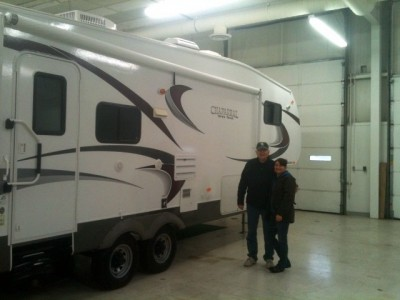 John V of Quakertown, PA with their Chaparral 267RLS