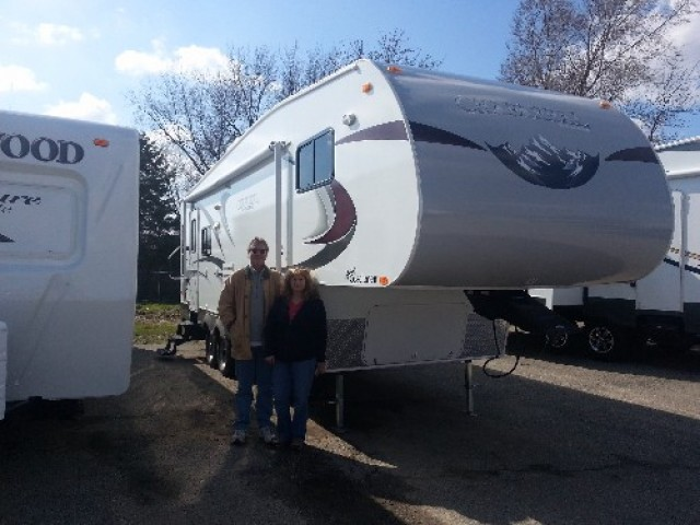 Patti of Chatham with their Columbus 340RK
