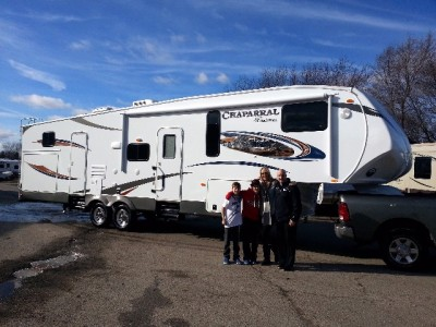 Karen of Braintree, NL with their Chaparral Lite 29MKS