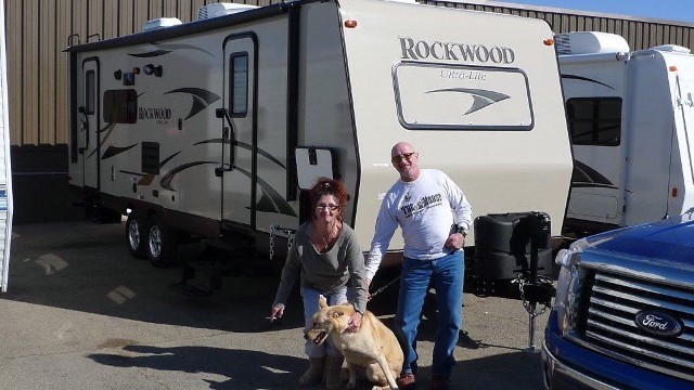 Kelly of Latrobe, PA with their Rockwood Ultra Lite 2304DS