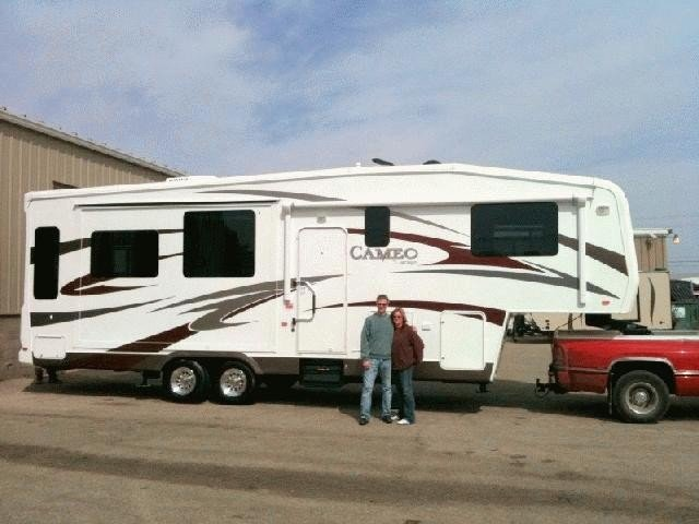 Mike X of Kingsville with their Eagle HT 29.5BHDS