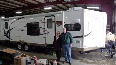 Michael Pule of Johnstown, CO with their Windjammer 3008W