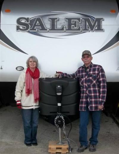 Ray Folkema of Ste Genevieve, MT with their Salem 27DBUD