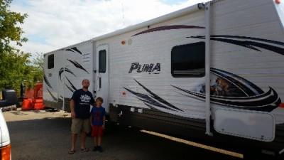 Robinson Family Waldorf of Montevallo, AL with their Puma 25RS
