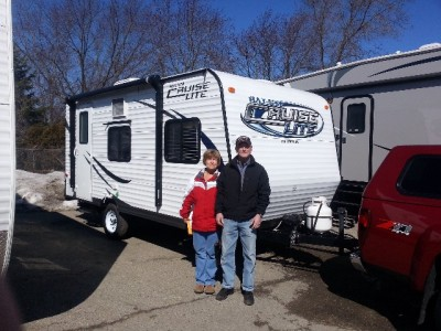 Ron Luke of West Plains, MO with their Salem Cruise Lite 253RLXL