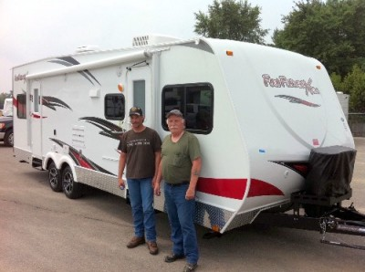 Terry of Anaconda, MT with their Fun Finder 214WSD