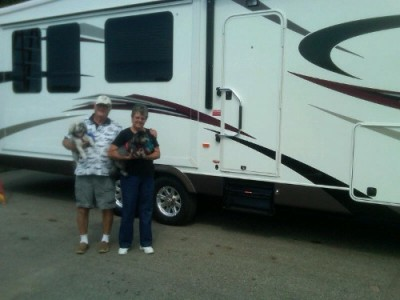 Terry And Mo of Portland with their Eagle HT 27.5BHS
