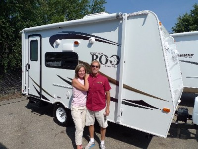 Tom of Saugatuck, BC with their Rockwood Roo 19