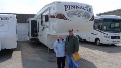 Walter Stone of White Lake with their Pinnacle 36REQS