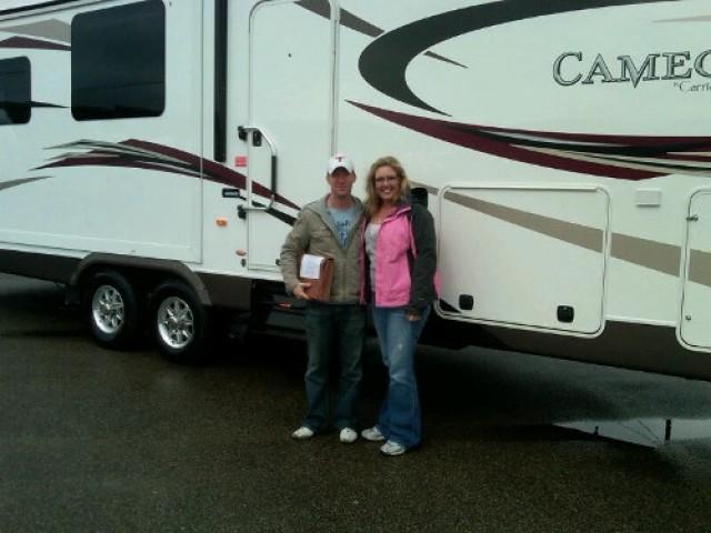 Will Muma of Cedar Park, BC with their Eagle 29.5RKS
