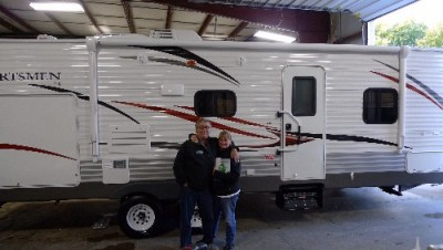 Bruce of Dozier, TN with their Sportsmen 280RL
