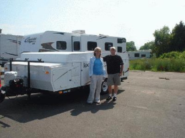 Roy of White Lake with their Rockwood Premier 10