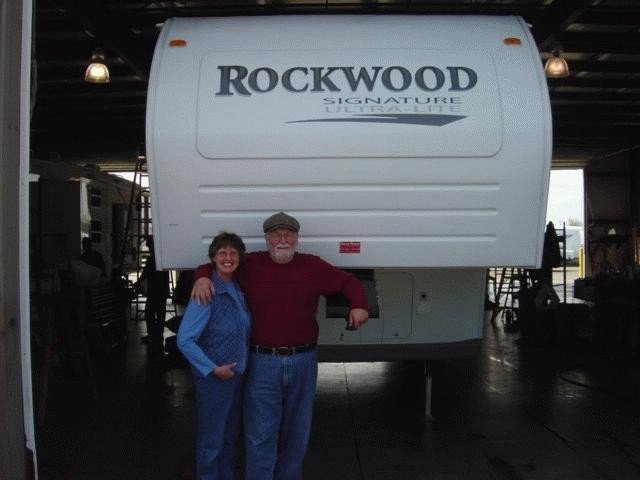 Bruce , of Carson City, MI with their Rockwood Signature Ultra Lite 8289WS