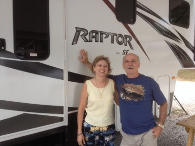 Eddy of Williston with their Raptor 375TS