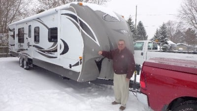 Gerry of Ypsilanti with their Cougar 280RLS