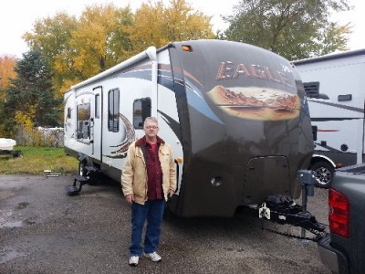 Greg Anderson of Greenville with their Eagle 306RKDS