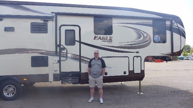Jeff of Fort Mcmurray with their Eagle Premier 351MKTS