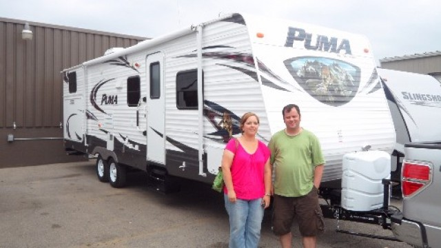 Jeff Greer of Downers Grove, IL with their Puma 30DBSS
