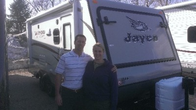 Jesse of River View, MI with their Jay Feather Ultra Lite X19H