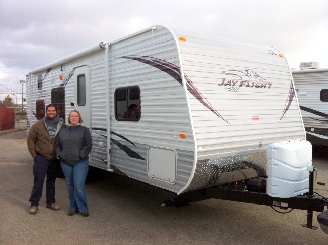Jim of Fort Mcdowell, OK with their Jay Flight 26BH