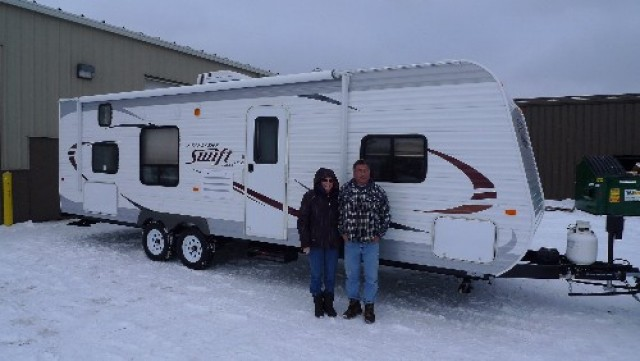 Julian Rockymountainrv of Fort Mcdowell, OK with their Jay Flight SLX 165RB