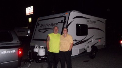 Mike of North Las Vegas, SK with their Jay Feather Ultra Lite X19H